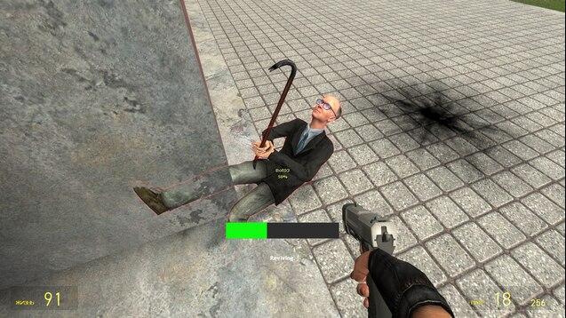 Система Реанимации в стиле Call of Duty: Zombies