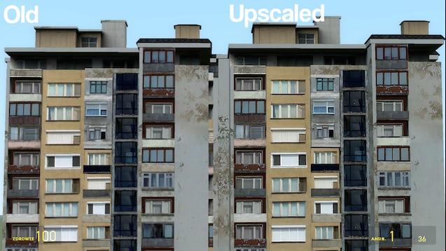 Улучшенные HD текстуры зданий