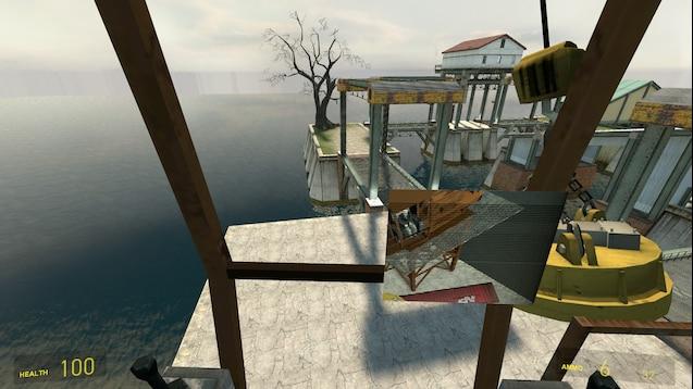 Gm_oceantown плавучая станция