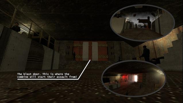 Tetrac Bunker Assault