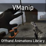 VManip (Base) — клиентская библиотека для анимации левой руки