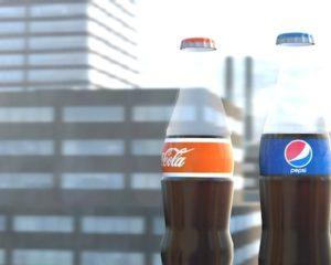 Coca-Cola & Pepsi анимированные напитки с исцеляющим эффектом