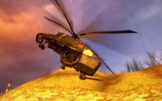 Тяжелый вертолет - охотник