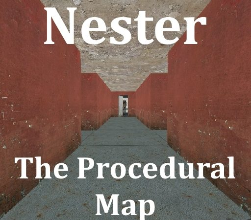 Nester - случайно сгенерированная карта