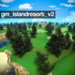 Gm_islandresort_v2 красочный остров (карта для песочницы)