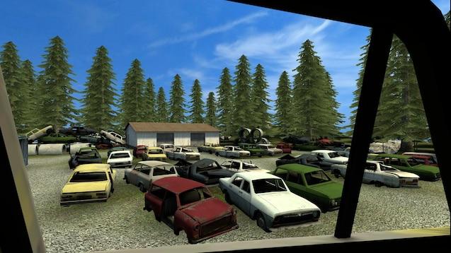 GM_Blesmont - небольшой городок на острове