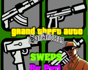 Оружейный пак Grand Theft Auto San Andreas