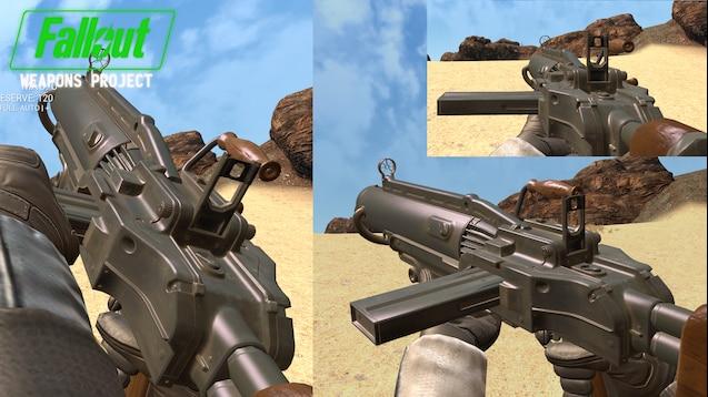 [TFA] Огромный пак оружия из Fallout