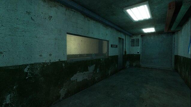 Небольшая, подземная база в Арктике