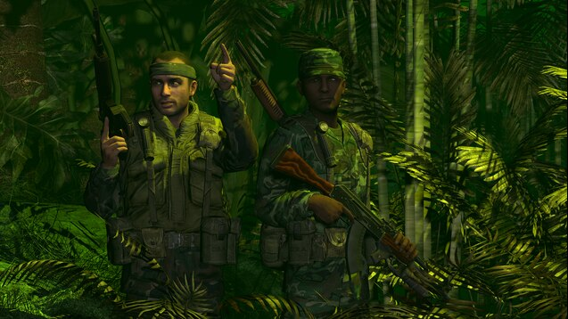 Камуфляжные костюмы солдат США времен войны во Вьетнаме