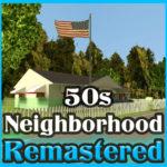 Дом 50-х годов в США