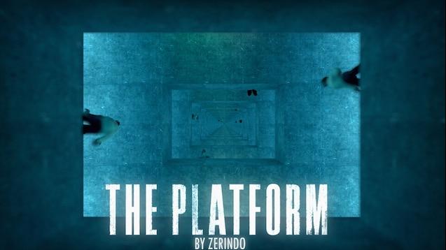Карта Платформа из одноименного фильма