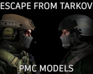 Плеермодели из игры ESCAPE FROM TARKOV