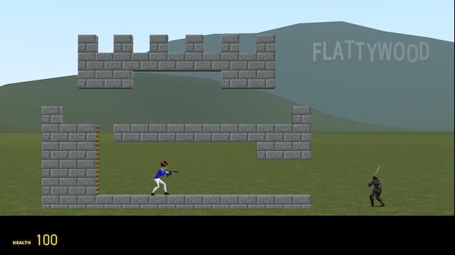 "2D карта ""Flatgrass"""