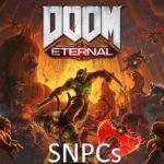 Демоны из DOOM Eternal SNPCs