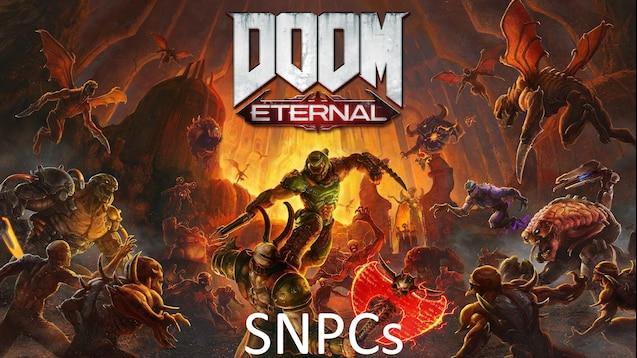 Мобы демоны из DOOM Eternal SNPCs
