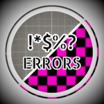 ERRORS удаление error моделей и битых текстур