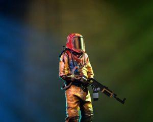 Антирадиационный костюм из Rust