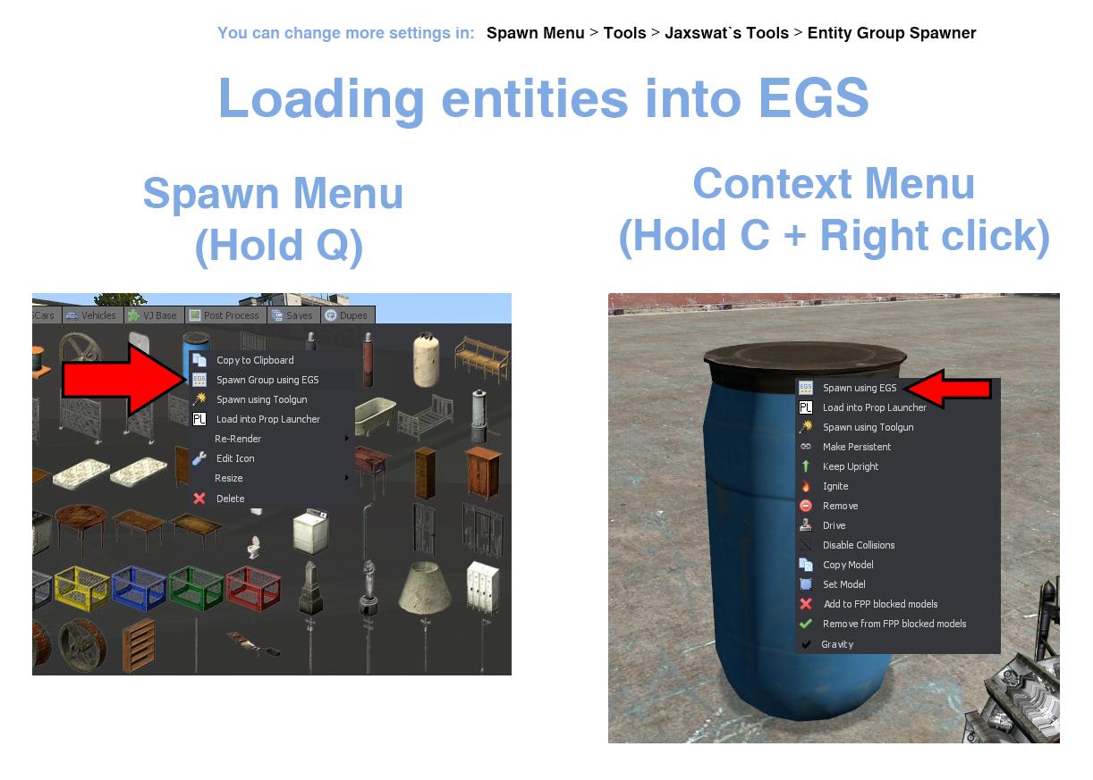 Entity Group Spawner - инструмент массового спавна сущностей