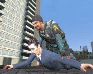 Скрытное убийство в прыжке