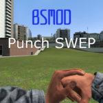 BSMod рукопашный бой (удары кулаками и ногами)