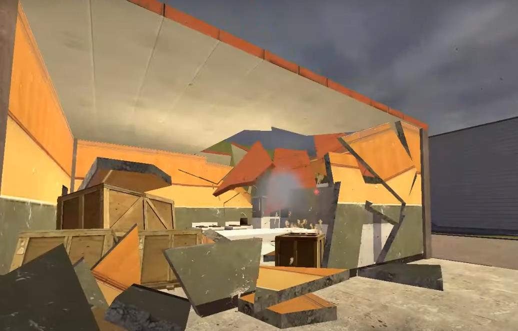 Gm_highwaydmm полностью разрушаемая карта
