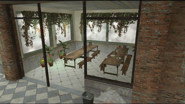 Whirling cafeteria локация из Disco Elysium