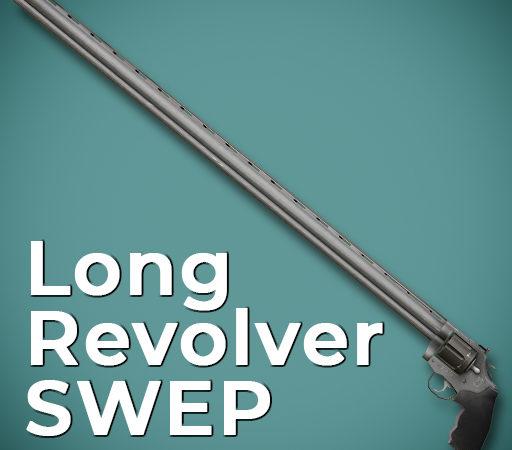 Очень длинный револьвер