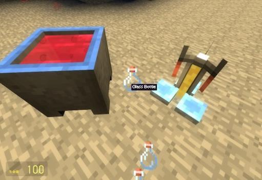 Варочная стойка из Minecraft и система варки зелий