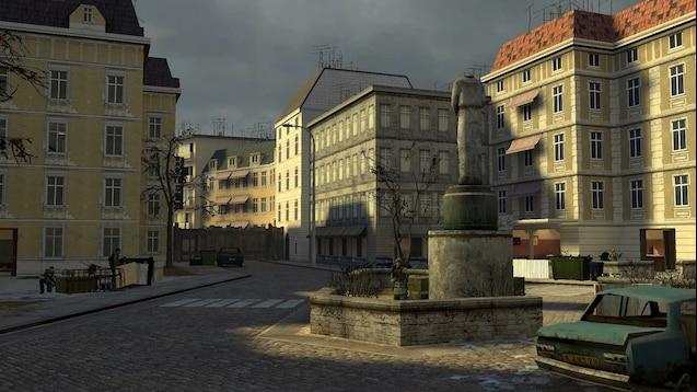 Гостиница Русалка - City 17 Оборона