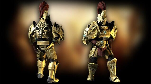 Адептус Кустодес из Warhammer 40000