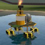 Нефтяная Вышка которую можно уничтожить