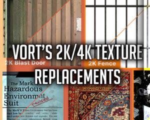 Замена текстур 2K/4K