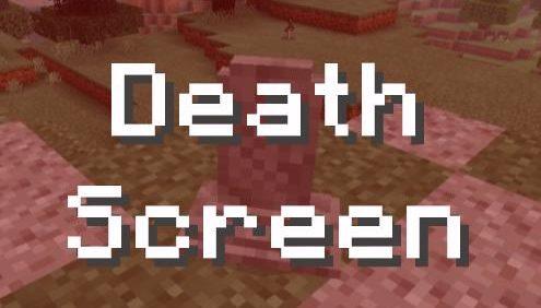 Экран смерти из Minecraft