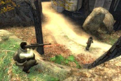 Снайпер повстанцев SNPC