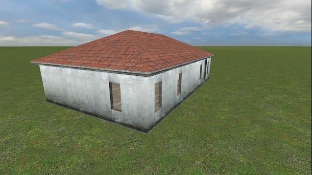 Разрушаемый дом в гаррис мод
