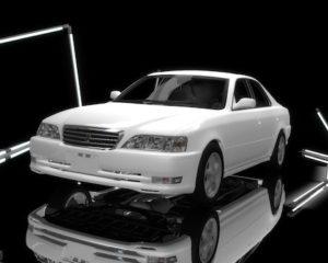 Автомобиль Toyota Cresta JZX100 (супер реалистичный)