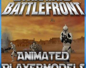 Анимированные модели Star Wars Battlefront
