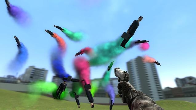 Неуправляемые ракеты из НПС (веселуха)