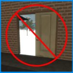 Исправление появления портала после удаления двери