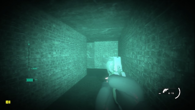 Очки ночного видения из Modern Warfare
