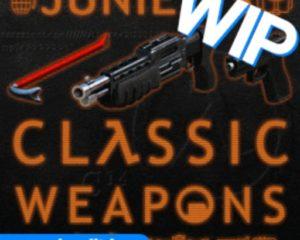 Классический набор оружия Juniez