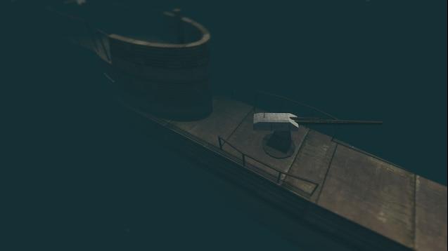 Карта Gm_Submarine (подводная лодка)