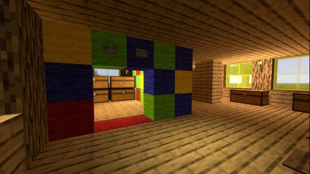"Дом из мема ""Ой мама пришла"" (Minecraft)"