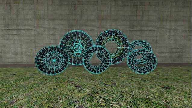 Пак детализированных моделей Half-Life 2