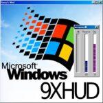 9XHUD интерфейс в стиле Windows 95 и 98