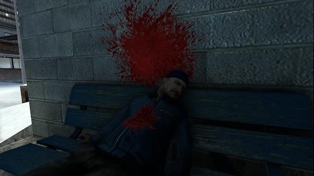 Аддон на ранения и лужи крови из Soldier of Fortune 2