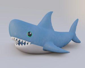 Игрушечная акула