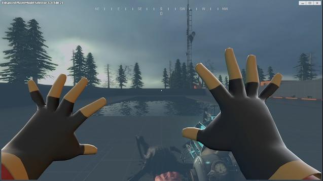 Руки отдельно от модели игрока Enhan PlayerModel Sel