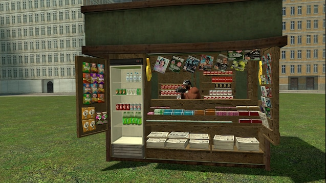 GTA IV придорожные объекты (киоски, светофоры, билборды и т.д.)